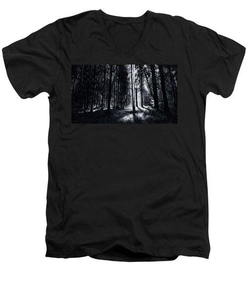 In The Woods 6 Men's V-Neck T-Shirt