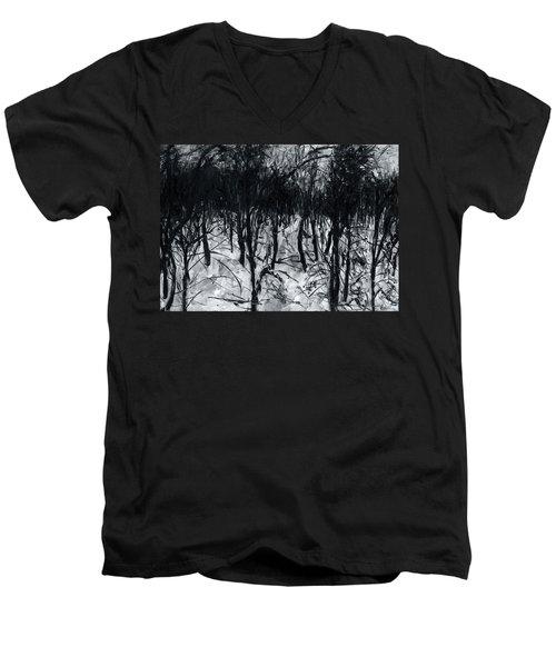In The Woods 7 Men's V-Neck T-Shirt