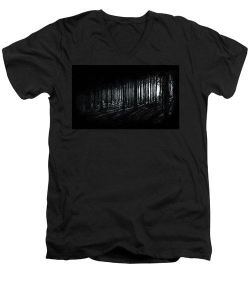 In The Woods Men's V-Neck T-Shirt