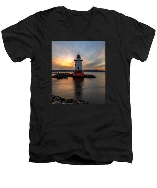 In Time  Men's V-Neck T-Shirt