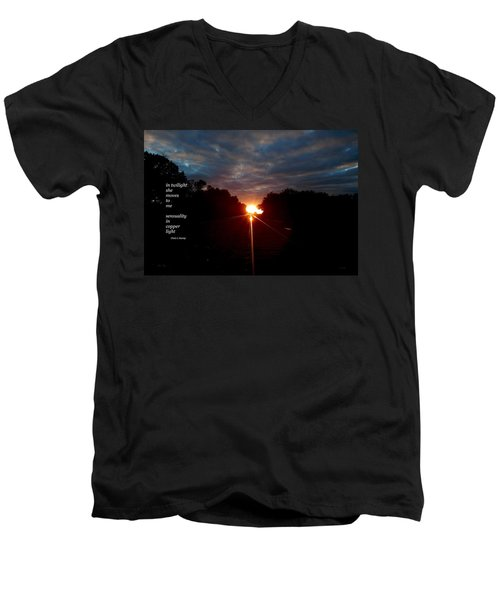In Twilight Men's V-Neck T-Shirt