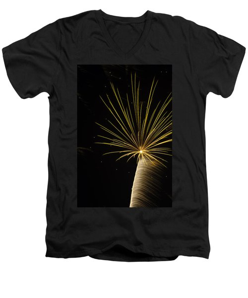 Men's V-Neck T-Shirt featuring the photograph Independanc I by Michael Nowotny