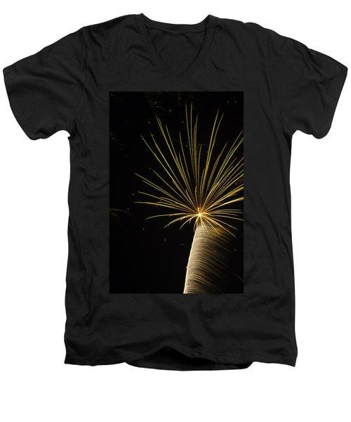 Independanc I Men's V-Neck T-Shirt by Michael Nowotny