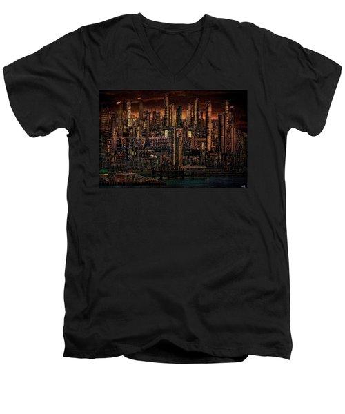Industrial Psychosis Men's V-Neck T-Shirt