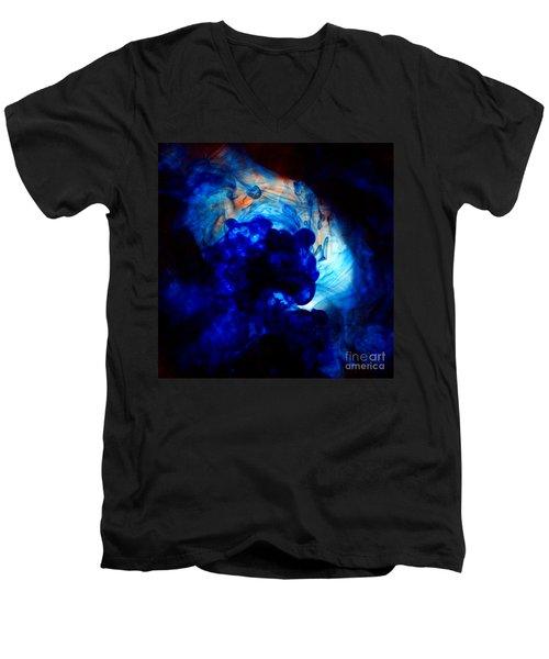 Ink Swirls 002 Men's V-Neck T-Shirt