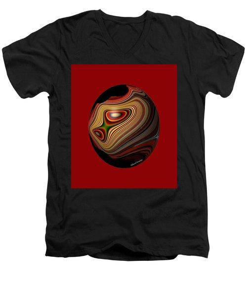 Inner Galaxy Men's V-Neck T-Shirt by Thibault Toussaint