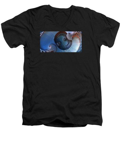 Innermost Reflections Men's V-Neck T-Shirt