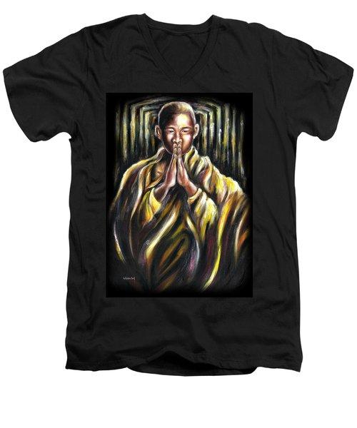 Inori Prayer Men's V-Neck T-Shirt