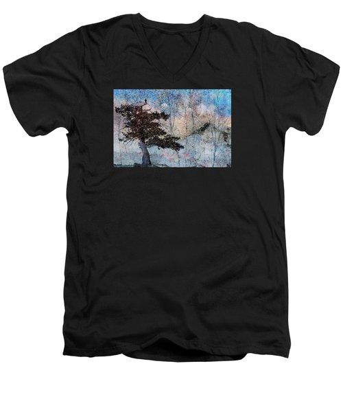 Inspira Men's V-Neck T-Shirt by Ed Hall