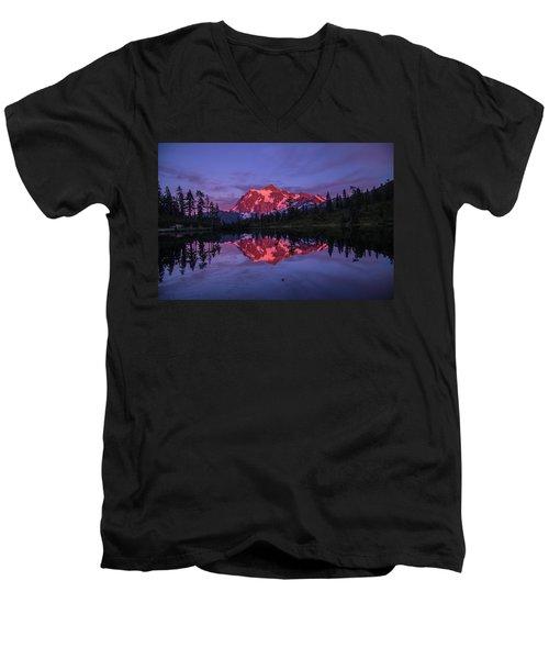 Intense Reflection Men's V-Neck T-Shirt