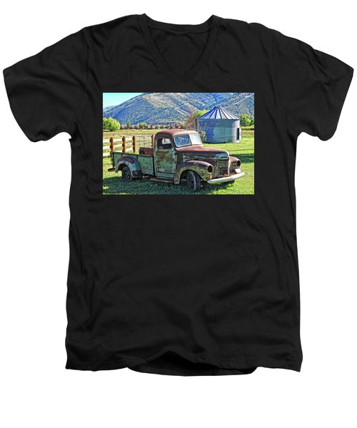 International Farm Men's V-Neck T-Shirt