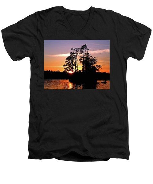 Into Shadow Men's V-Neck T-Shirt