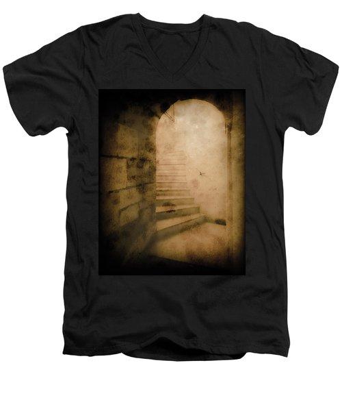 London, England - Into The Light II Men's V-Neck T-Shirt