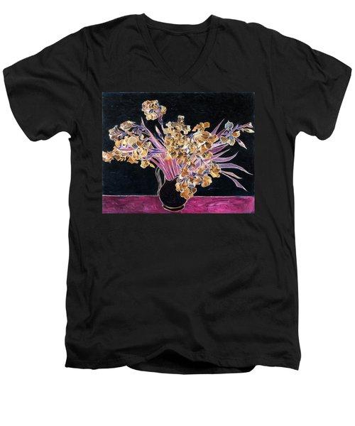Inv Blend 3 Van Gogh Men's V-Neck T-Shirt