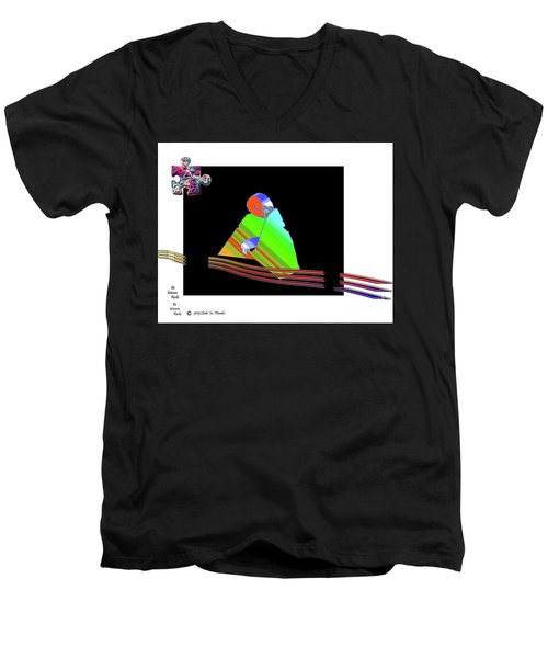 inw_20a6501 Be between Rocks Men's V-Neck T-Shirt