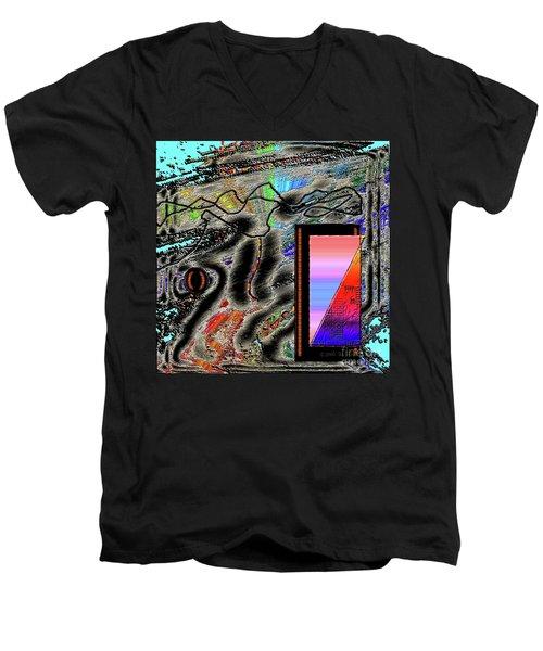Inw_20a6507 Universal Mining_custom-spectrum Men's V-Neck T-Shirt