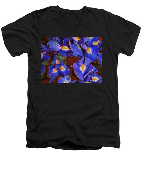 Iris Abandon 15 Men's V-Neck T-Shirt