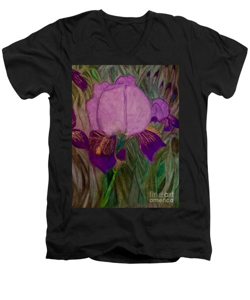 Iris - Magic Man. Men's V-Neck T-Shirt