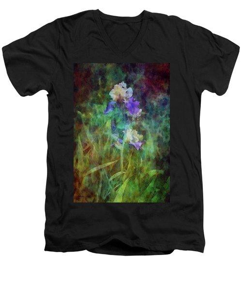 Irises 6618 Idp_3 Men's V-Neck T-Shirt