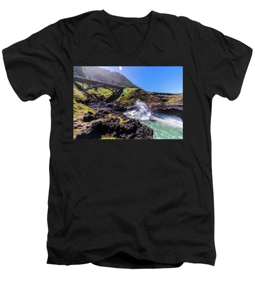 Irish Bridge Men's V-Neck T-Shirt