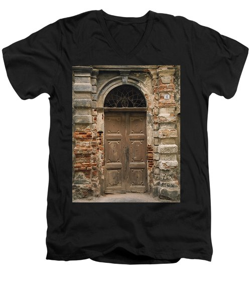 Italy - Door Four Men's V-Neck T-Shirt
