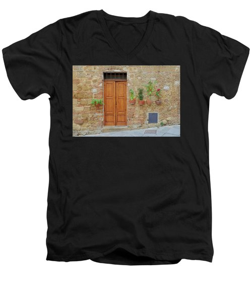 Italy - Door Twenty Men's V-Neck T-Shirt