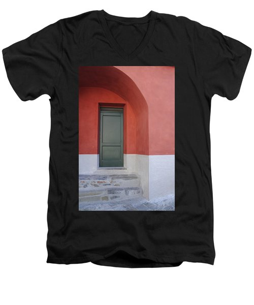 Italy - Door Two Men's V-Neck T-Shirt