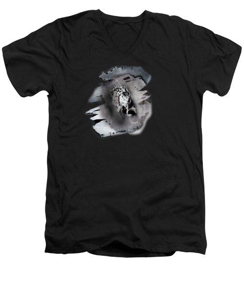 Iwanna Iguana Men's V-Neck T-Shirt by Susan Capuano