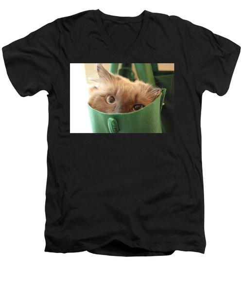 Jack In The Bag Men's V-Neck T-Shirt