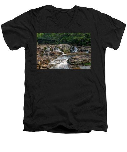 Jackson Falls Men's V-Neck T-Shirt