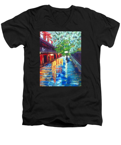 Jackson Square Reflections Men's V-Neck T-Shirt