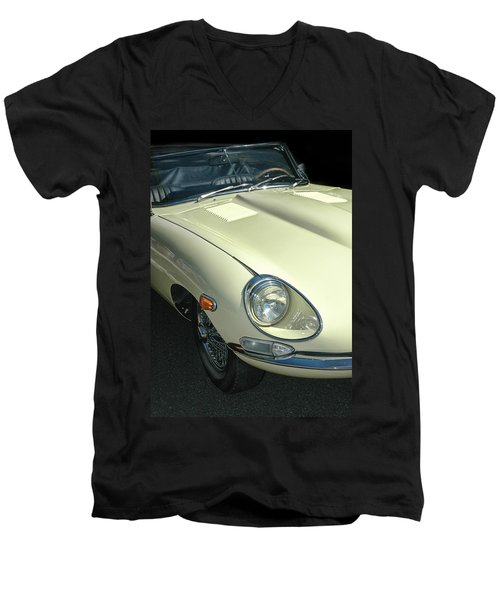 Jaguar Xke Roadster Men's V-Neck T-Shirt