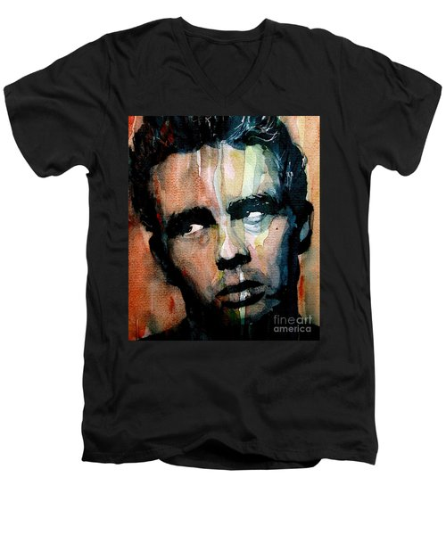 James Dean Men's V-Neck T-Shirt