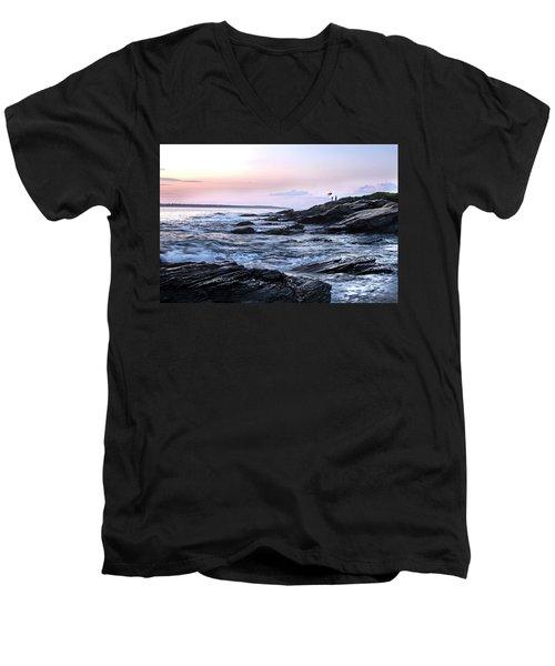 Jamestown Men's V-Neck T-Shirt