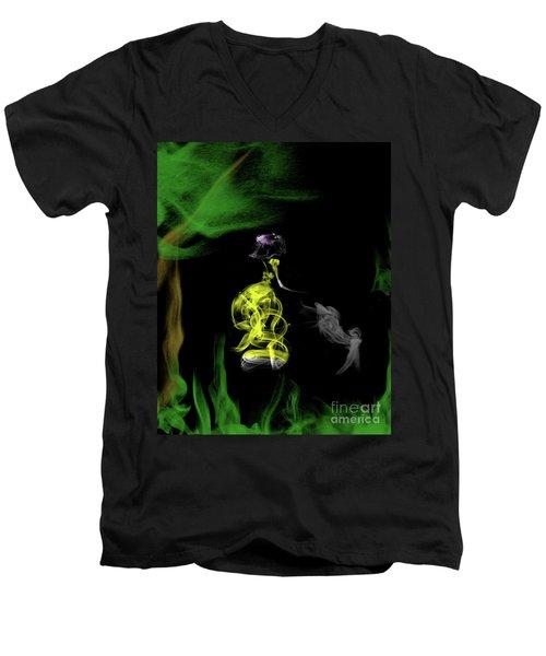 Jane Of The Jungle Men's V-Neck T-Shirt