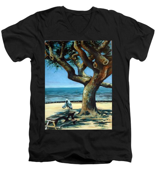 January Afternoon Men's V-Neck T-Shirt