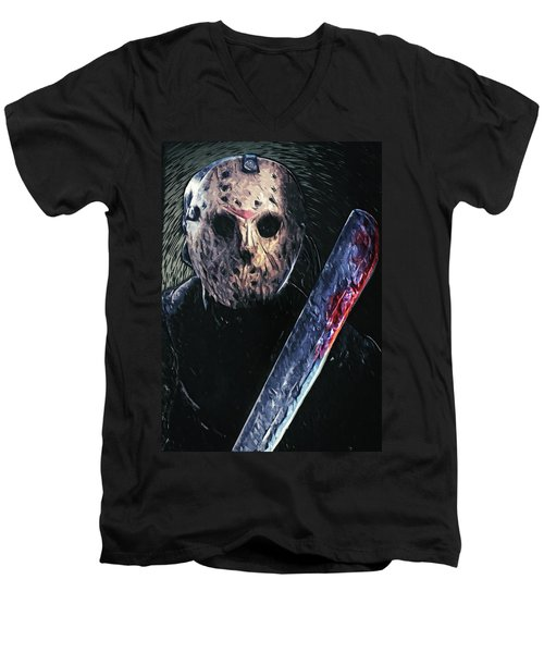 Jason Voorhees Men's V-Neck T-Shirt