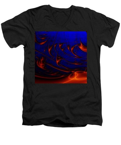 Javaturing Men's V-Neck T-Shirt