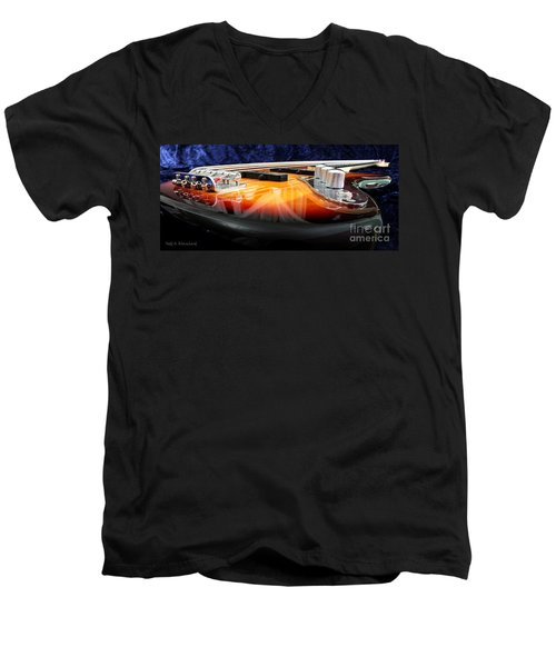 Jazz Bass Beauty Men's V-Neck T-Shirt