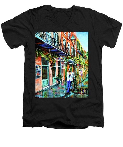 Jazz'n Men's V-Neck T-Shirt