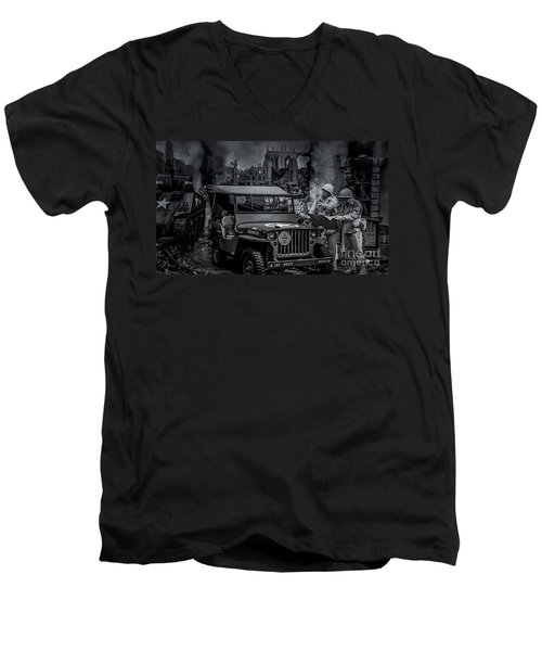 Jeep Men's V-Neck T-Shirt