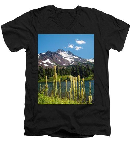 Jefferson Park Men's V-Neck T-Shirt