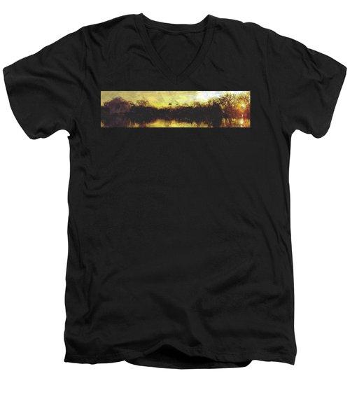 Jefferson Rise Men's V-Neck T-Shirt