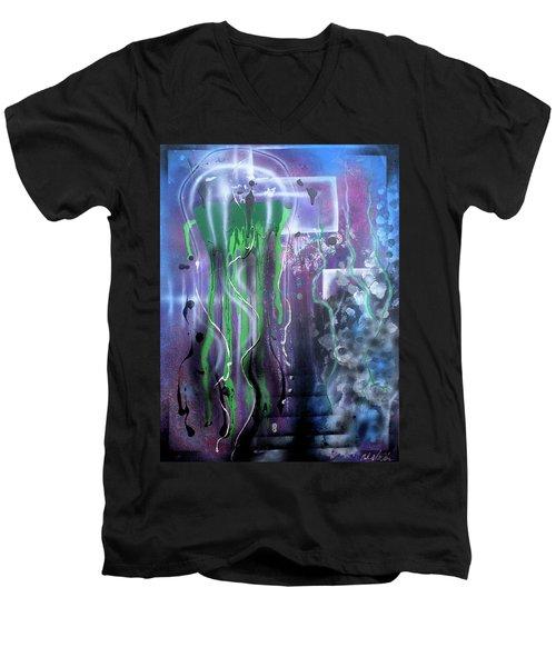 Jelly Men's V-Neck T-Shirt