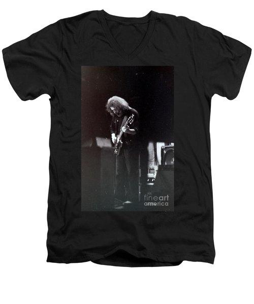 Morning Dew Men's V-Neck T-Shirt by Susan Carella