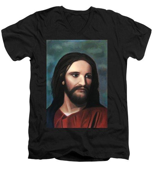 Jesus Of Nazareth - King Of Kings Men's V-Neck T-Shirt