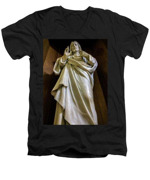 Jesus - Son Of God Men's V-Neck T-Shirt