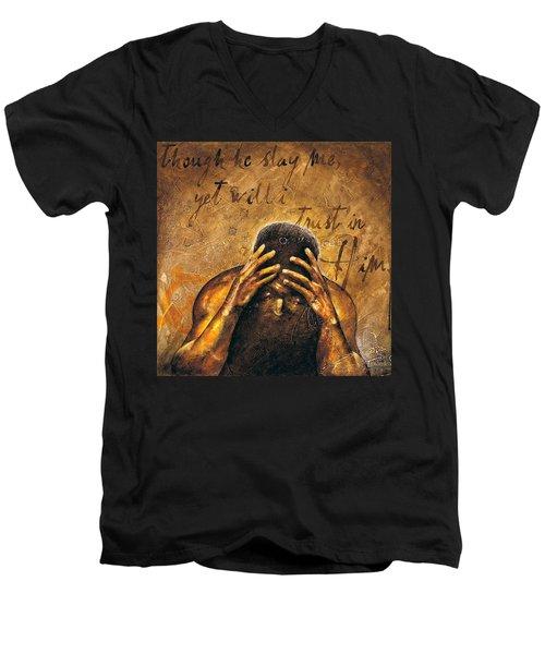 Job Men's V-Neck T-Shirt