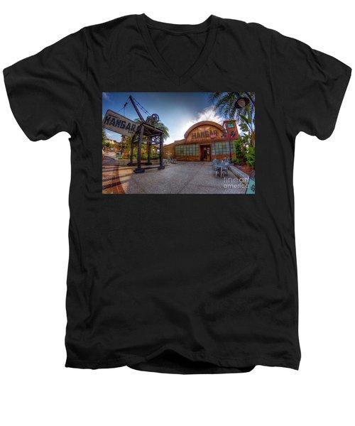 Jock Lindsey's Hangar Bar Men's V-Neck T-Shirt