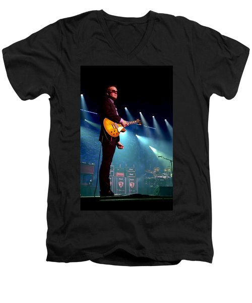 Joe Bonamassa 2 Men's V-Neck T-Shirt by Peter Chilelli